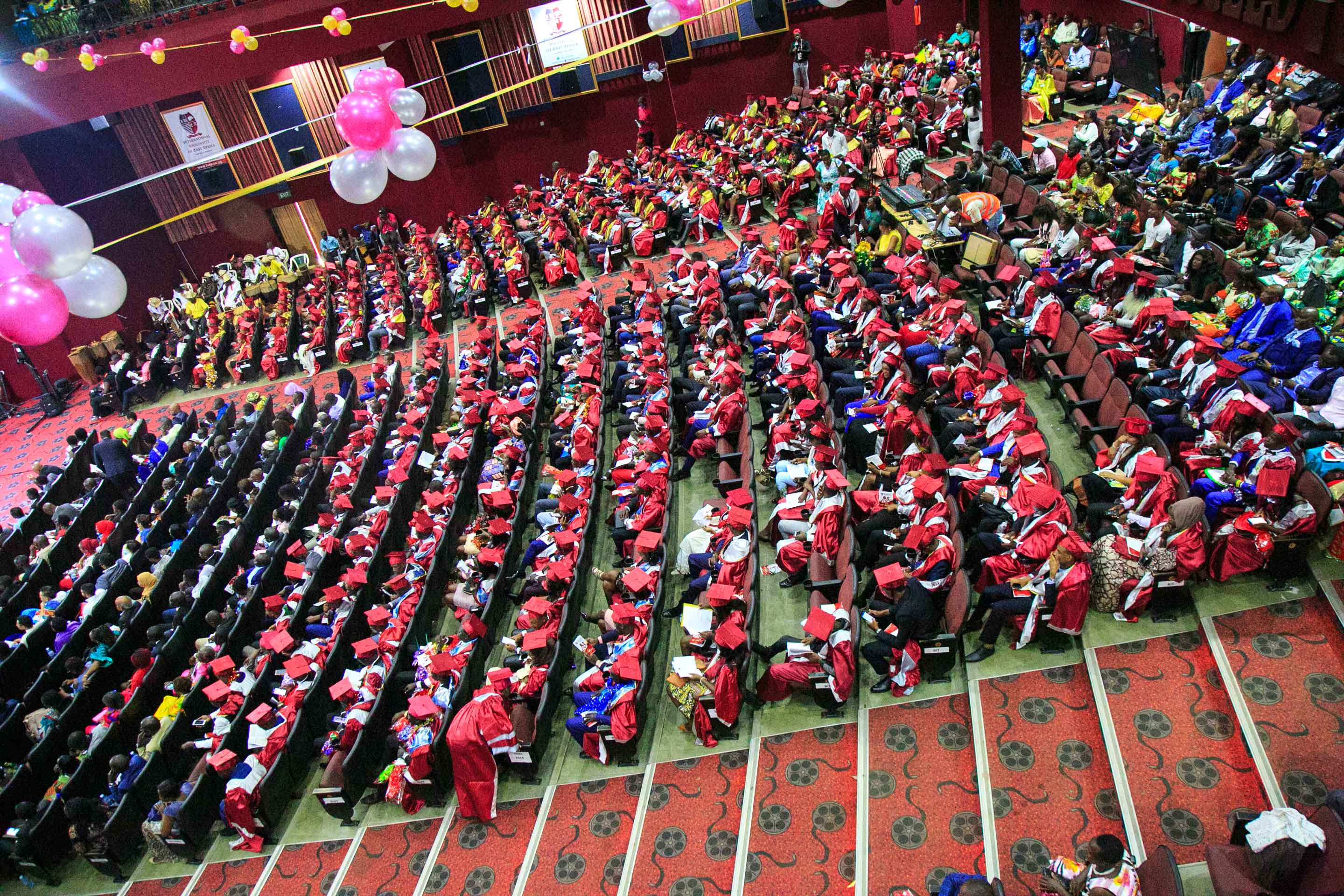 The graduating class of 2018, IUEA Kampala, Uganda